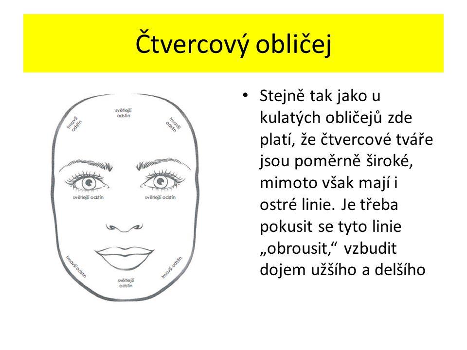 Čtvercový obličej