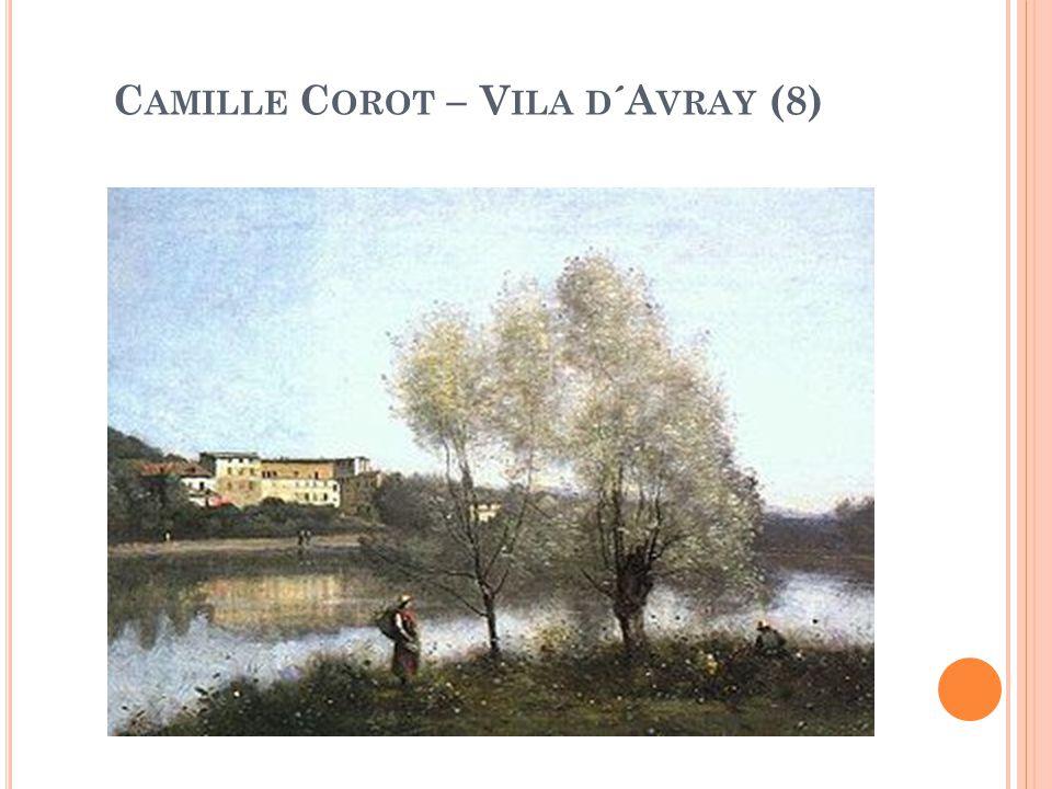 Camille Corot – Vila d´Avray (8)