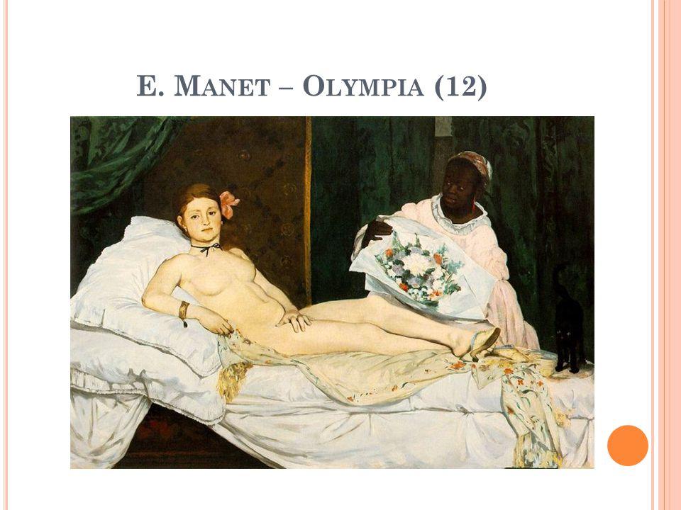 E. Manet – Olympia (12)