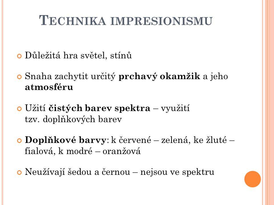Technika impresionismu