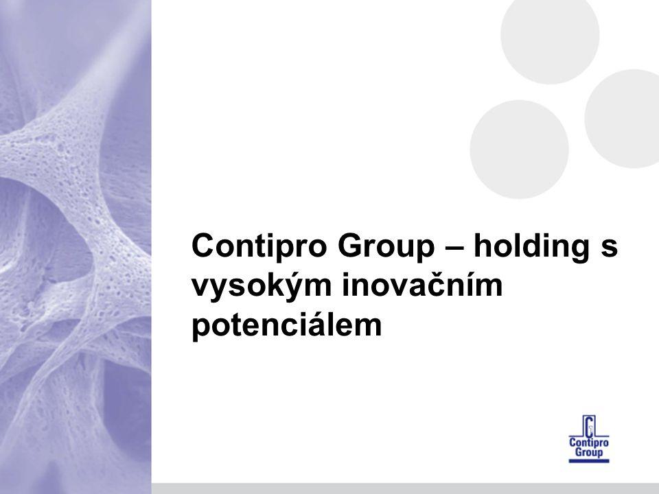 Contipro Group – holding s vysokým inovačním potenciálem