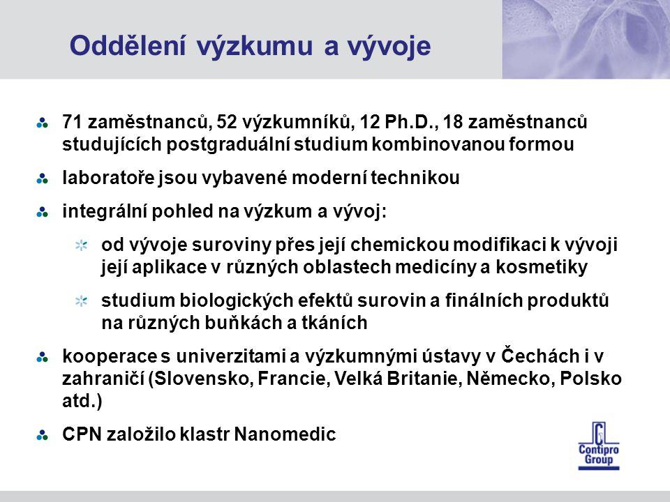 Oddělení výzkumu a vývoje
