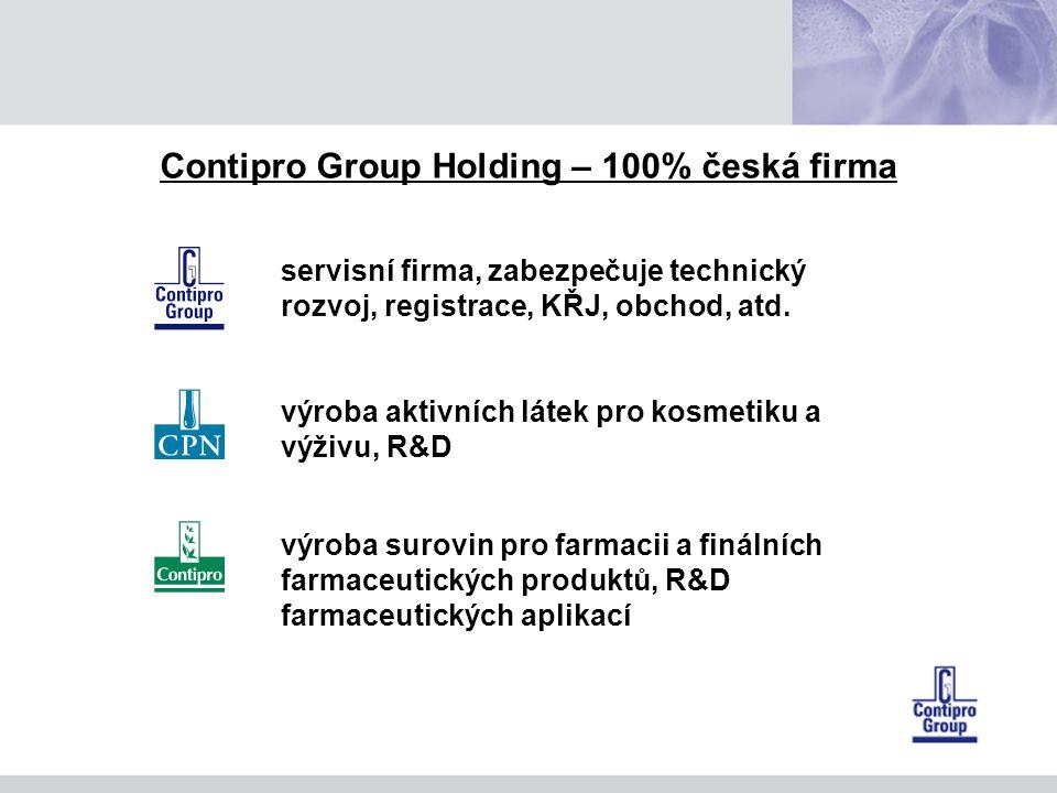 Contipro Group Holding – 100% česká firma