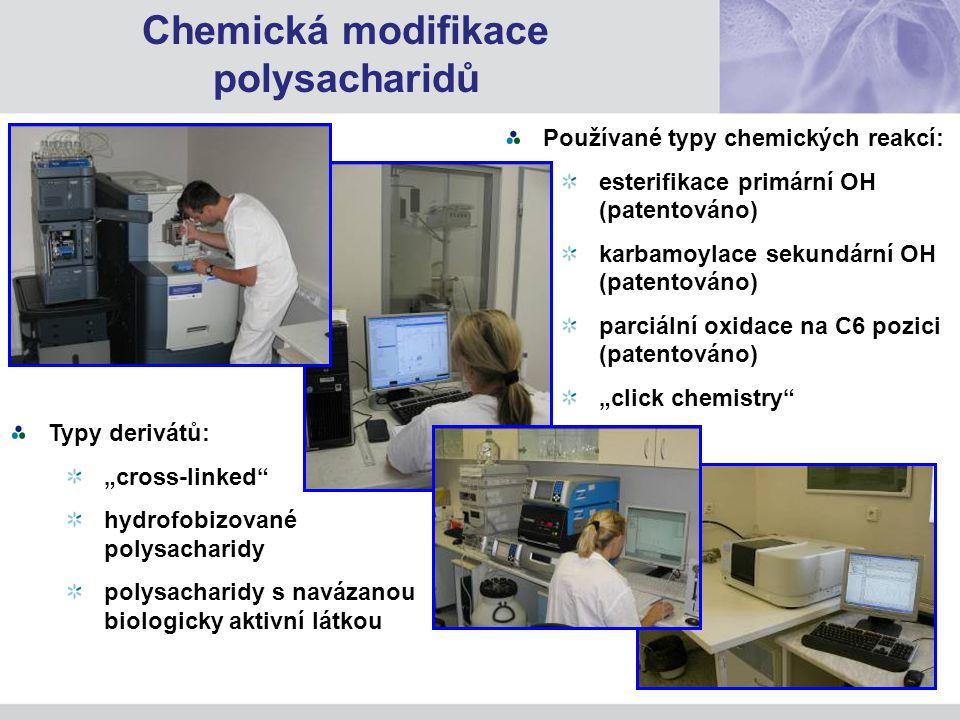 Chemická modifikace polysacharidů