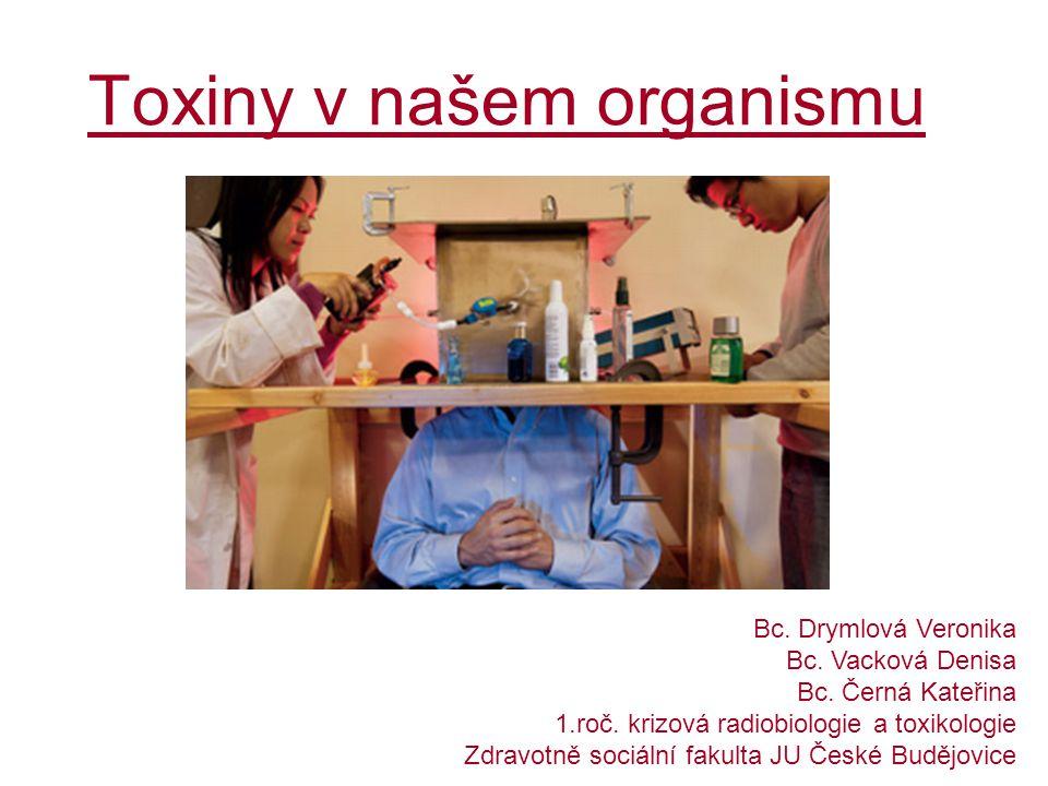 Toxiny v našem organismu