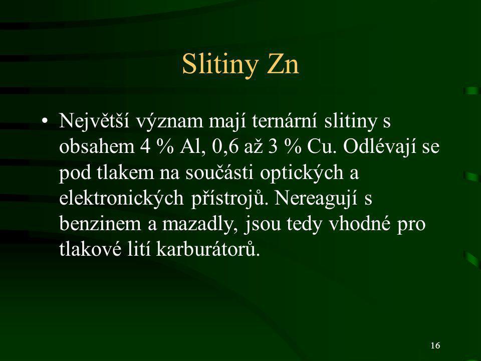 Slitiny Zn