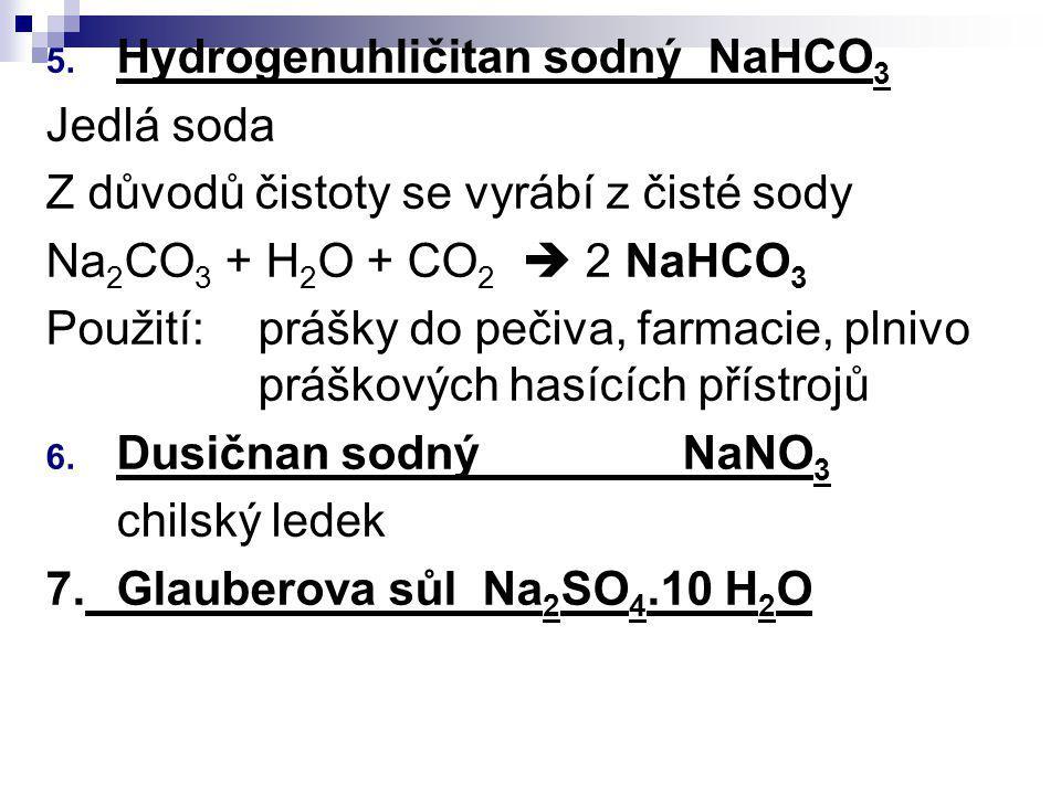 Hydrogenuhličitan sodný NaHCO3
