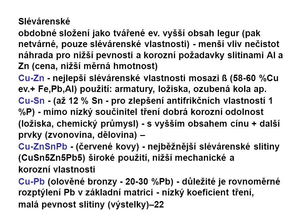 Slévárenské