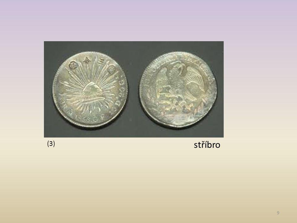 (3) stříbro