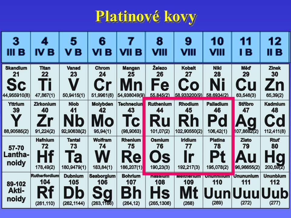 Platinové kovy