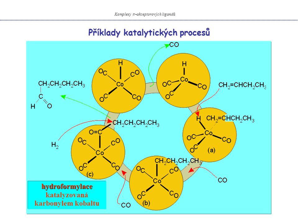 Příklady katalytických procesů