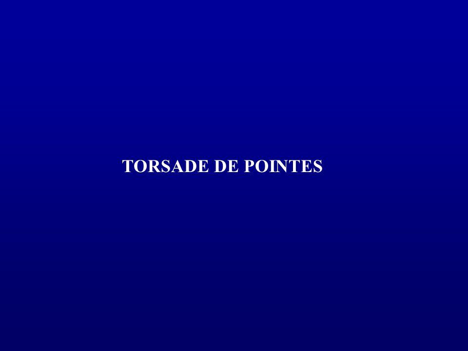 TORSADE DE POINTES