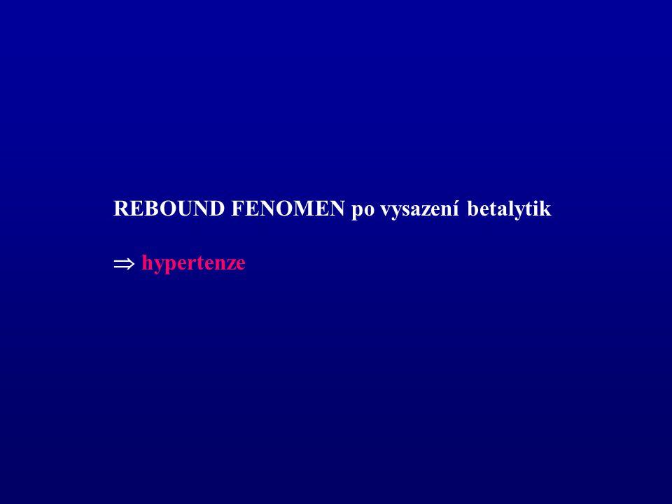 REBOUND FENOMEN po vysazení betalytik