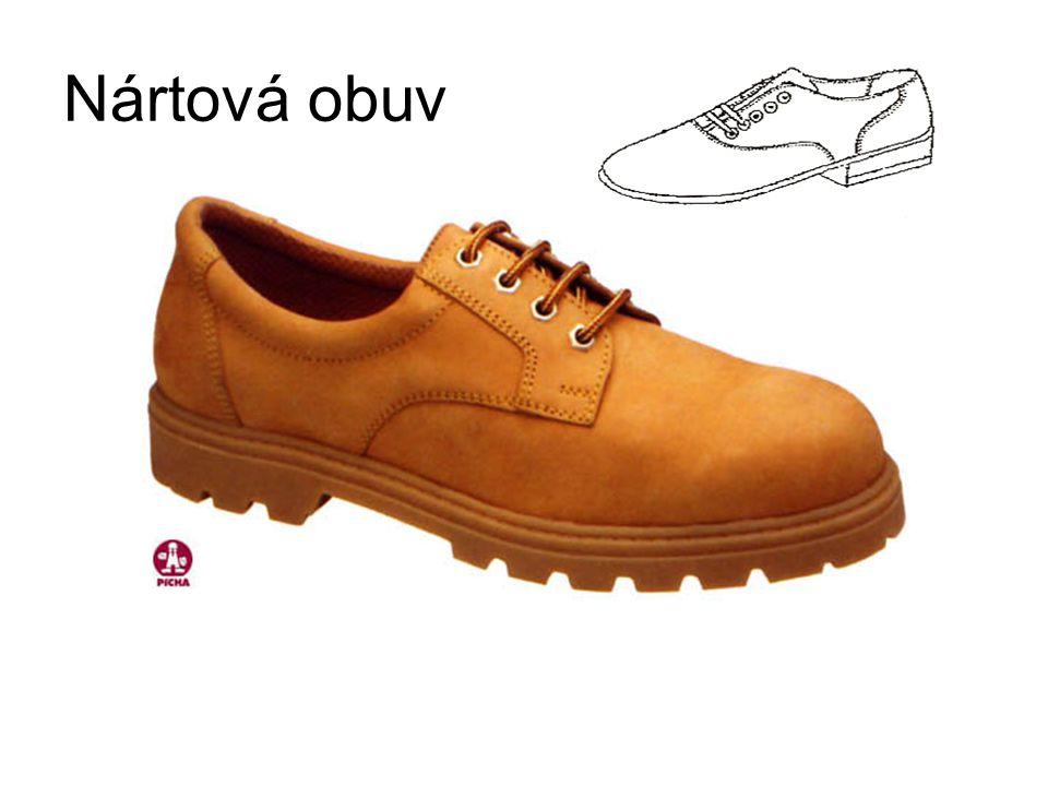 Nártová obuv
