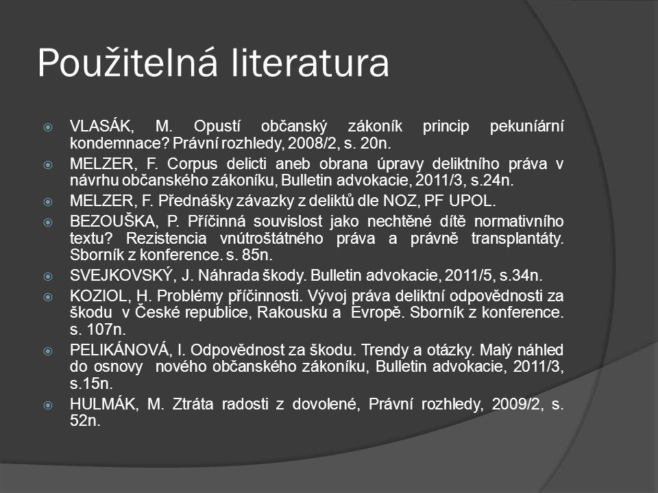 Použitelná literatura