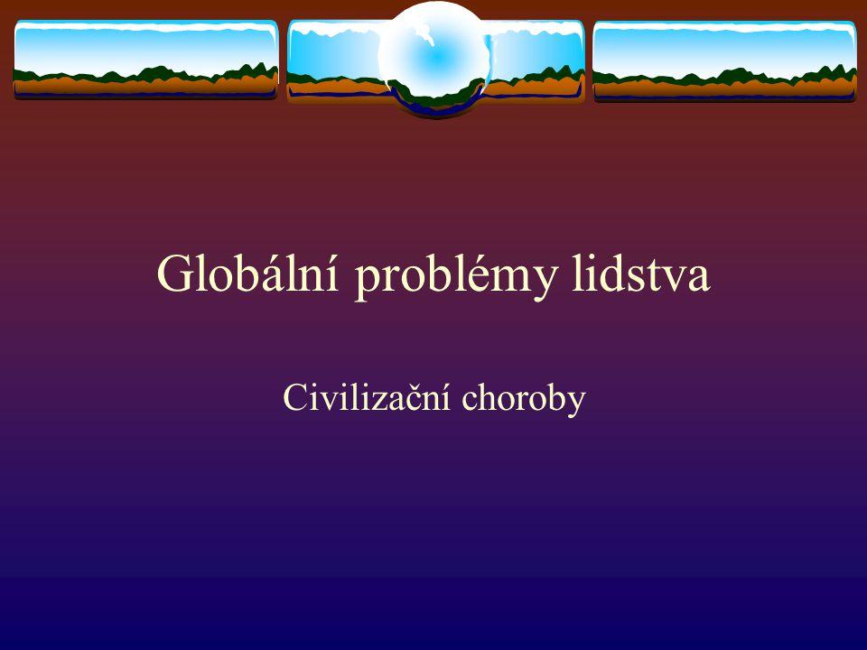 Globální problémy lidstva
