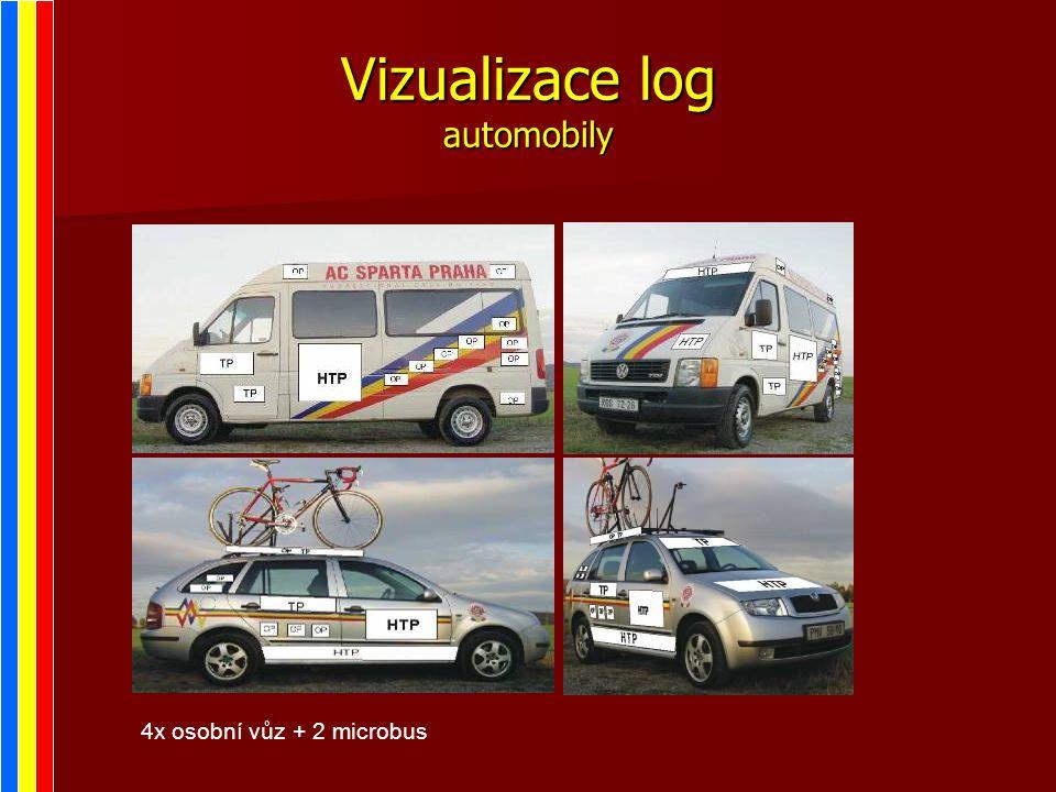 Vizualizace log automobily