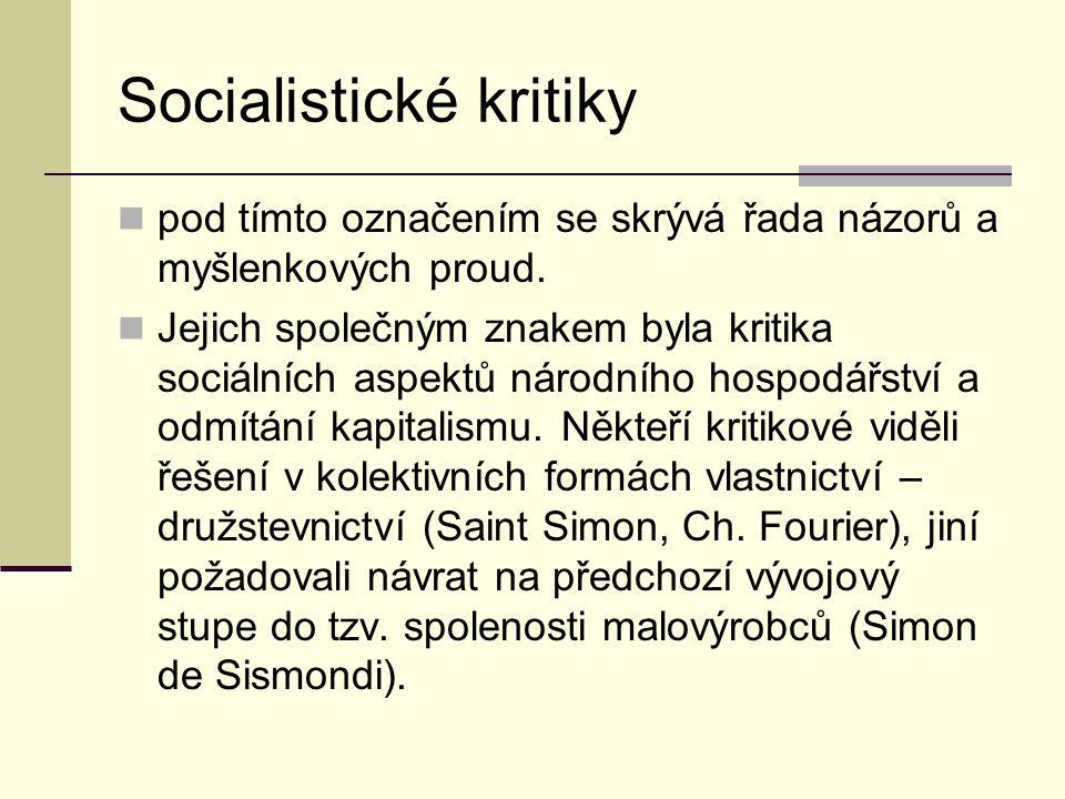 Socialistické kritiky