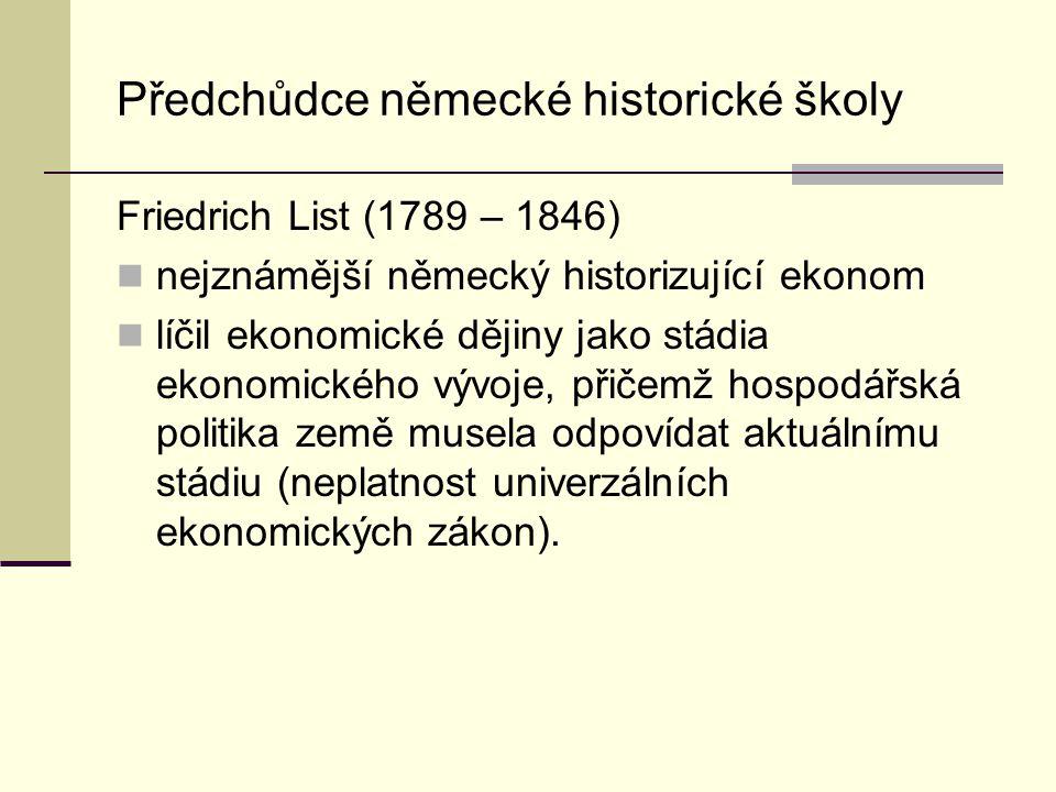 Předchůdce německé historické školy