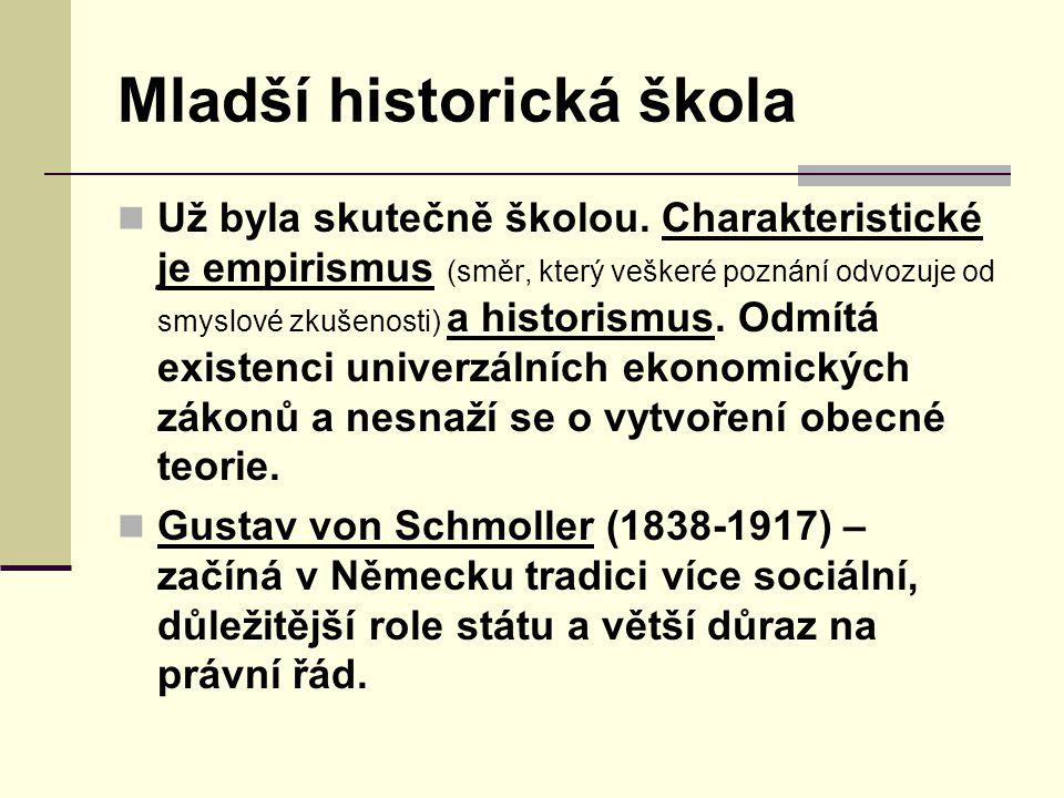 Mladší historická škola