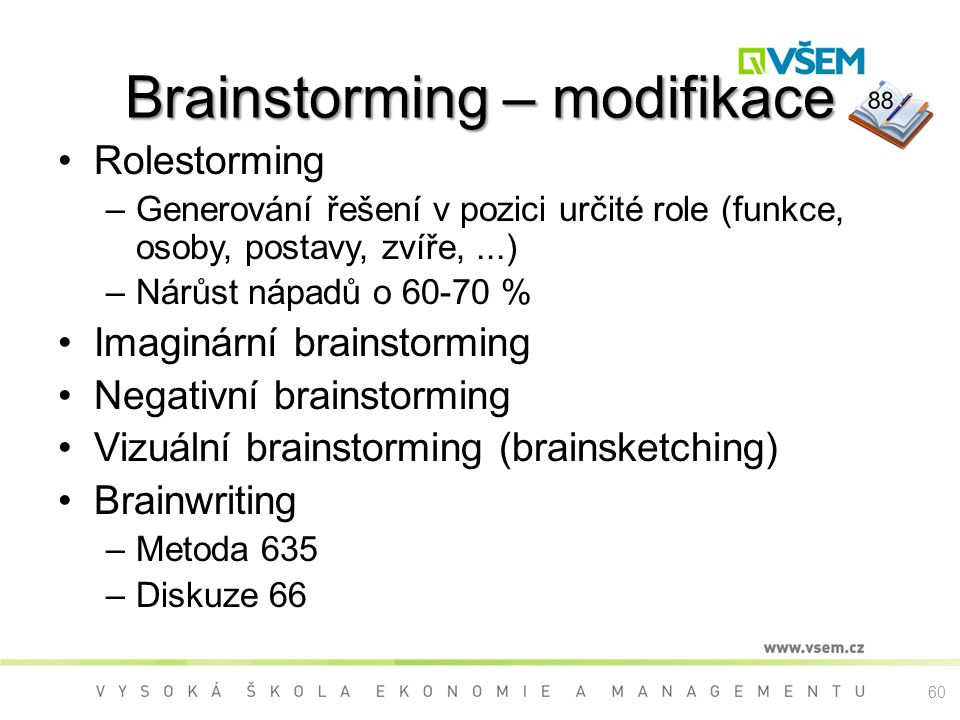 Brainstorming – modifikace