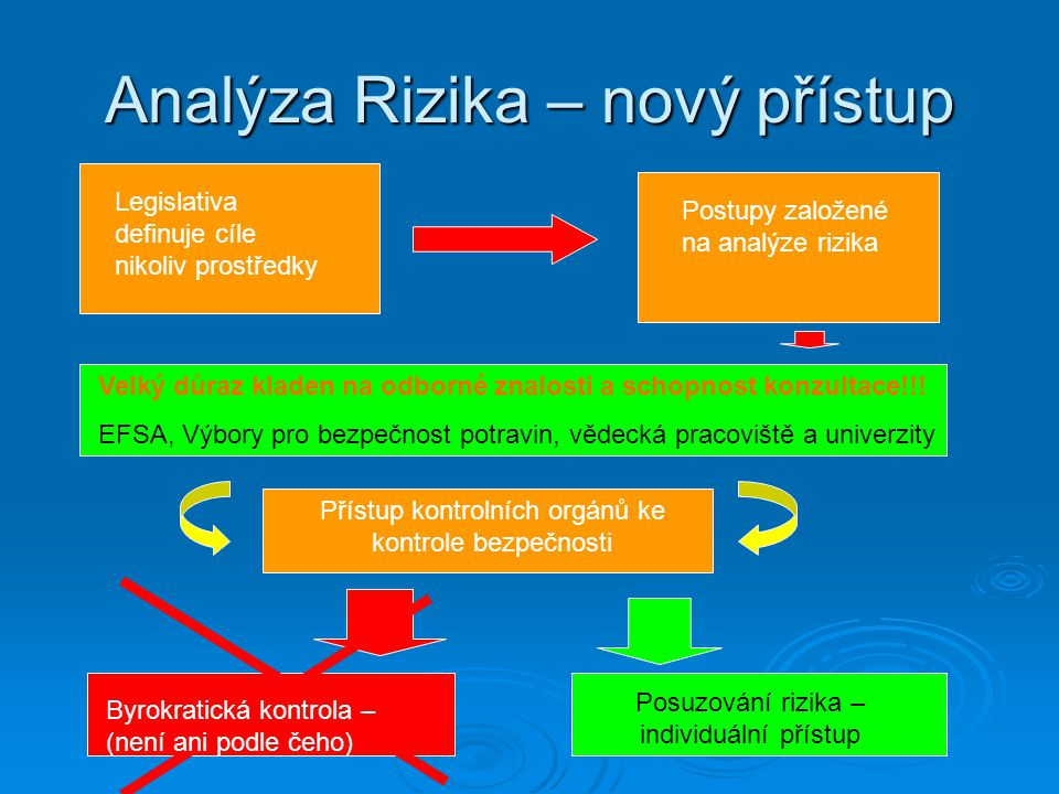 Analýza Rizika – nový přístup