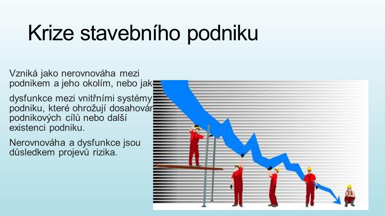 Krize stavebního podniku
