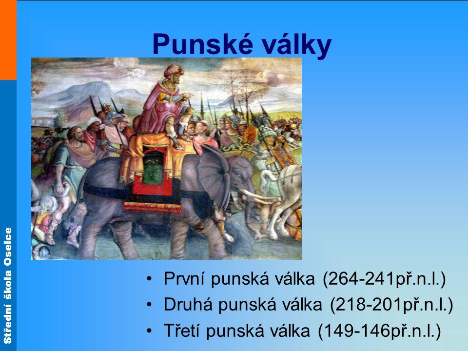 Punské války První punská válka (264-241př.n.l.)