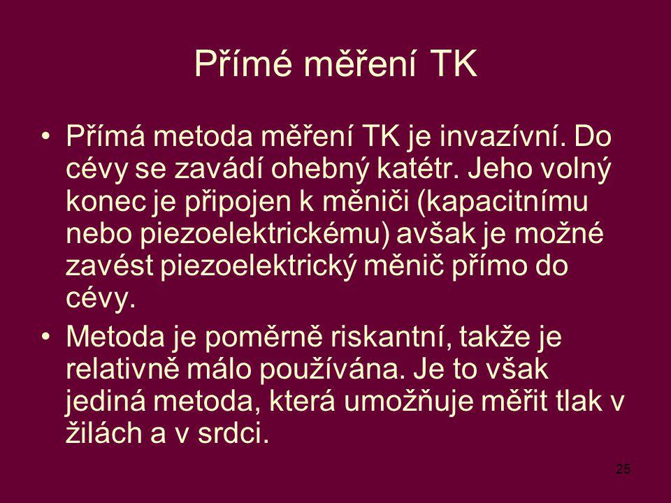 Přímé měření TK