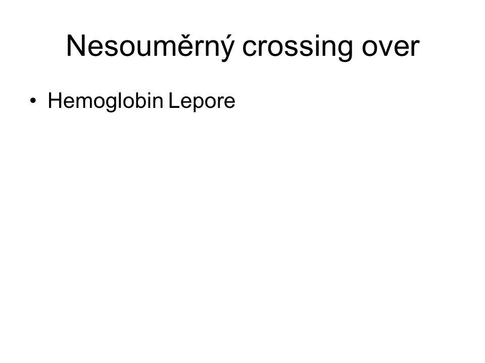 Nesouměrný crossing over