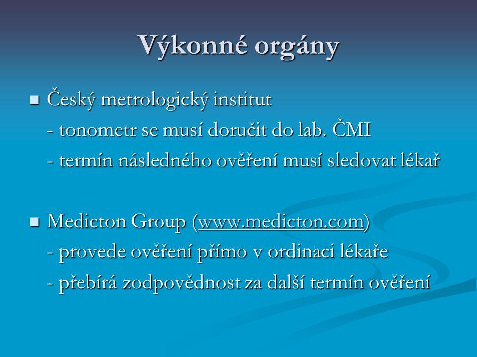 Výkonné orgány Český metrologický institut