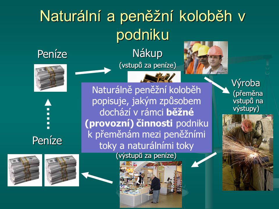 Naturální a peněžní koloběh v podniku