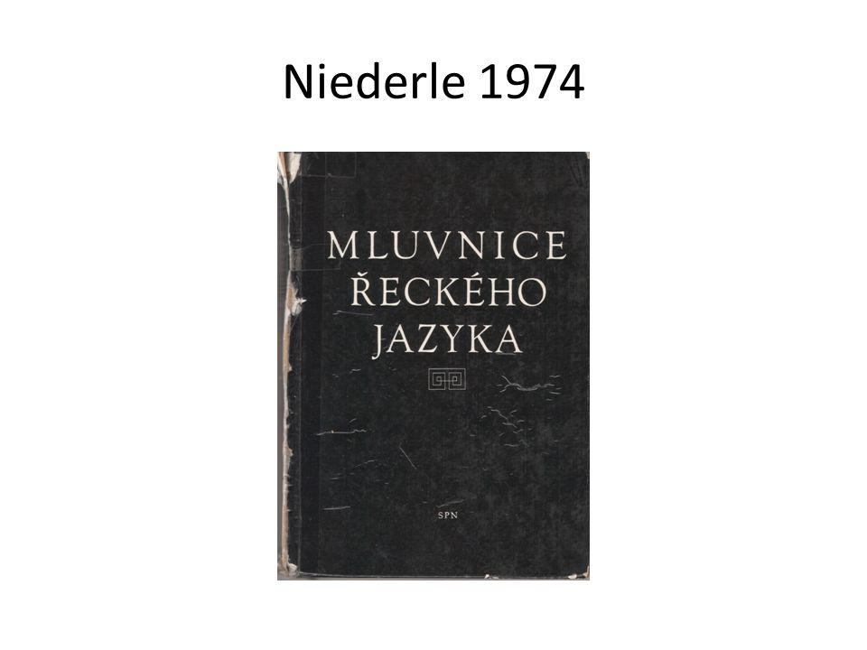 Niederle 1974