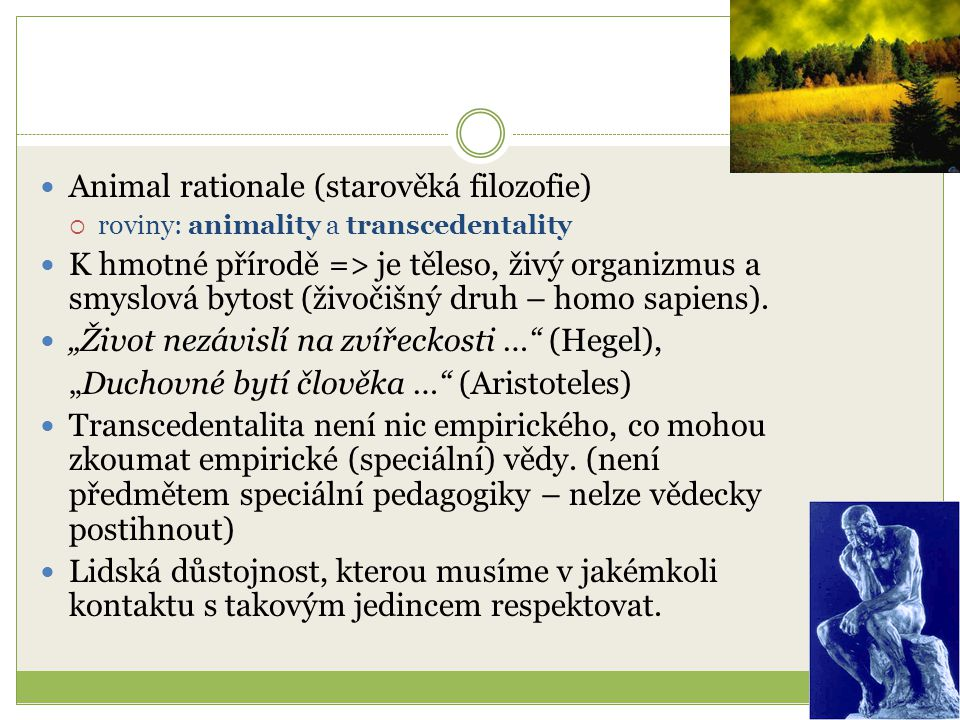 Animal rationale (starověká filozofie)