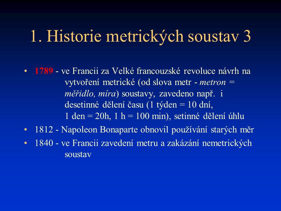 1. Historie metrických soustav 3