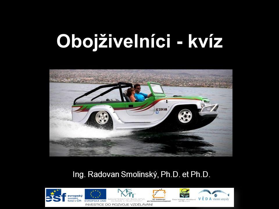 Ing. Radovan Smolinský, Ph.D. et Ph.D.