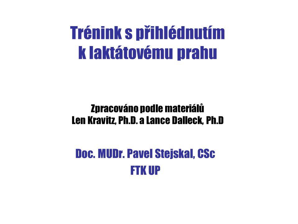 Doc. MUDr. Pavel Stejskal, CSc FTK UP