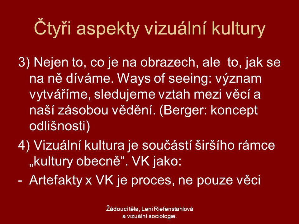 Čtyři aspekty vizuální kultury