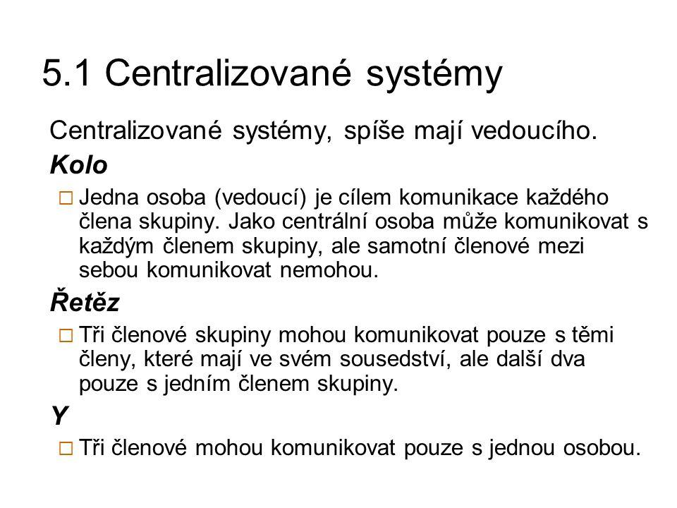5.1 Centralizované systémy