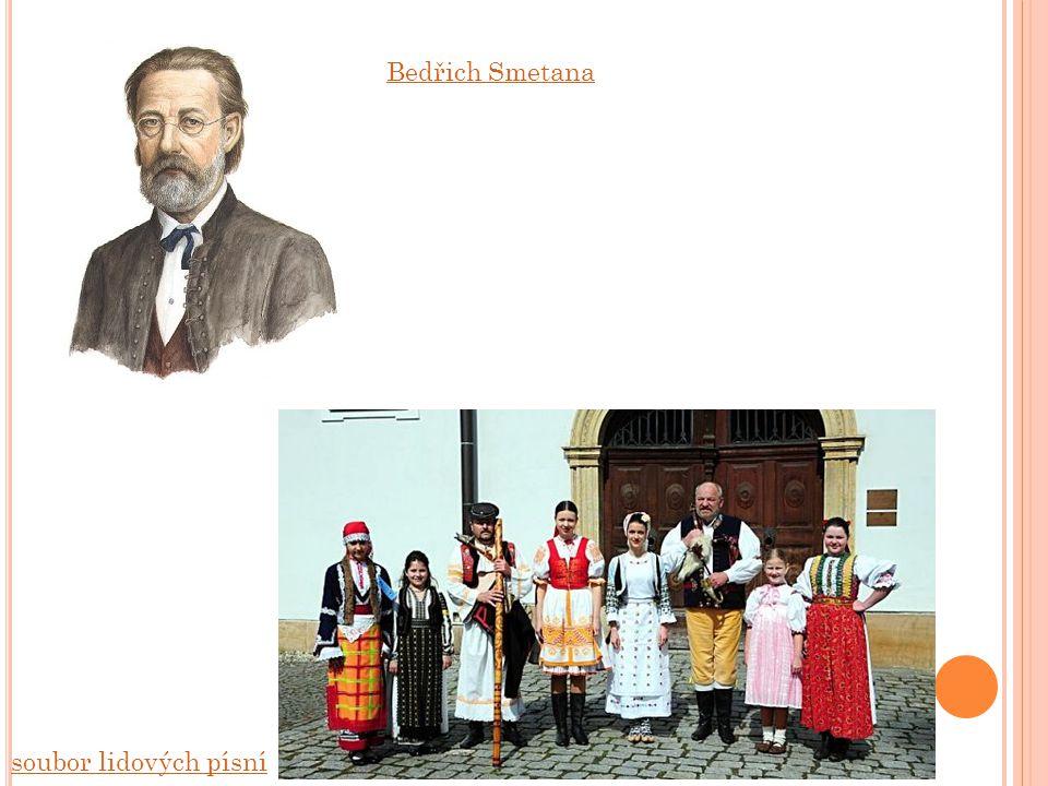 Bedřich Smetana soubor lidových písní