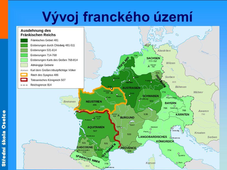 Vývoj franckého území