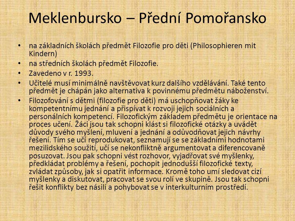 Meklenbursko – Přední Pomořansko