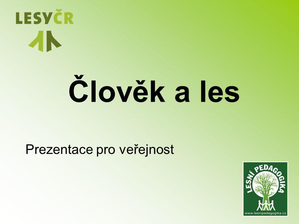Člověk a les Prezentace pro veřejnost