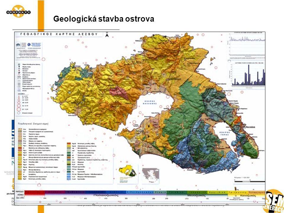 Geologická stavba ostrova