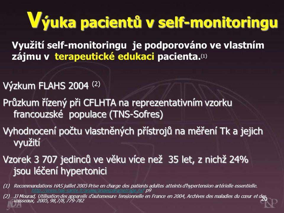 Výuka pacientů v self-monitoringu