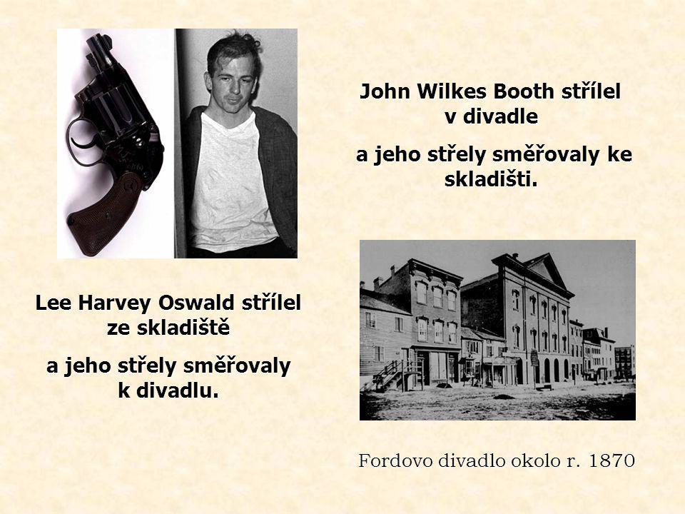 John Wilkes Booth střílel v divadle