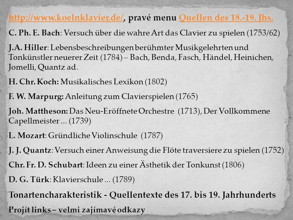 http://www.koelnklavier.de/, pravé menu Quellen des 18.-19. Jhs.