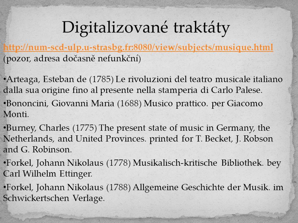 Digitalizované traktáty