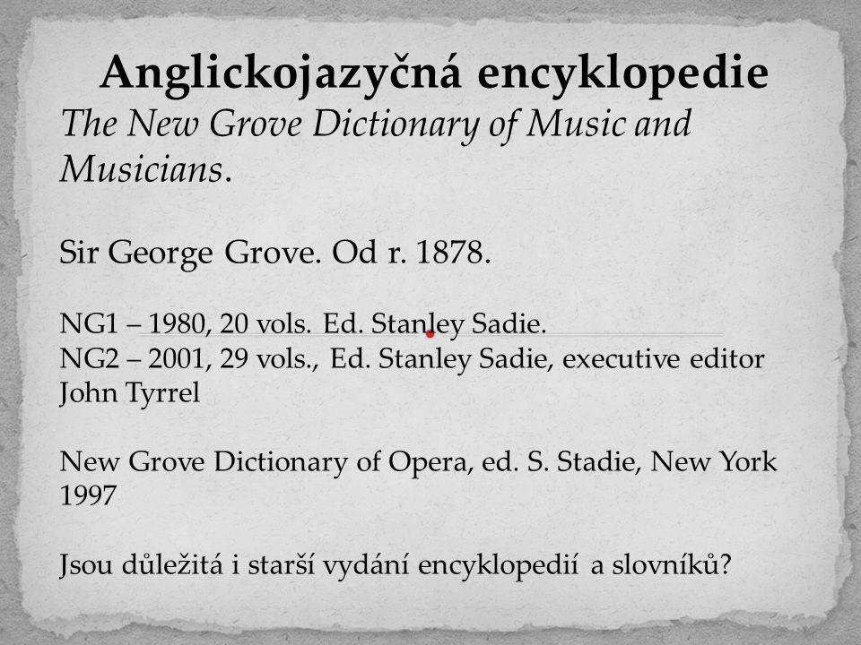 Anglickojazyčná encyklopedie