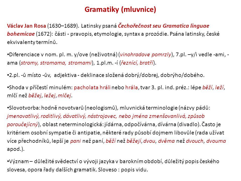 Gramatiky (mluvnice)